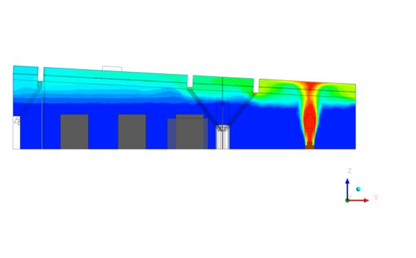étude de ventilation naturelle des ouvrages aéraulique thermique