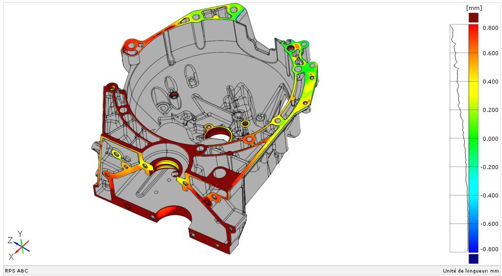 scan 3d contrôle tridimensionnel