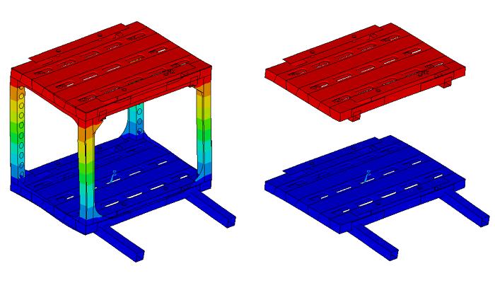 Calcul résistance matériaux - ensembles mécano-soudés