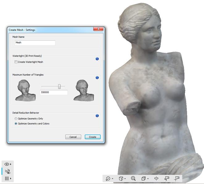 relevés scanner 3D