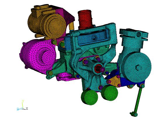 simulation numérique éléments finis machine agricole