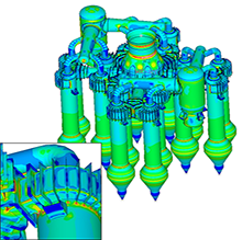 simulation numérique calcul résistance mécanique chaudronnerie