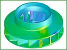 Pompe centrifuge automobile